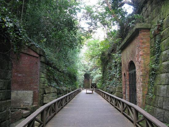 Sarushima Island (Monkey Island): 旧日本軍の要塞跡です