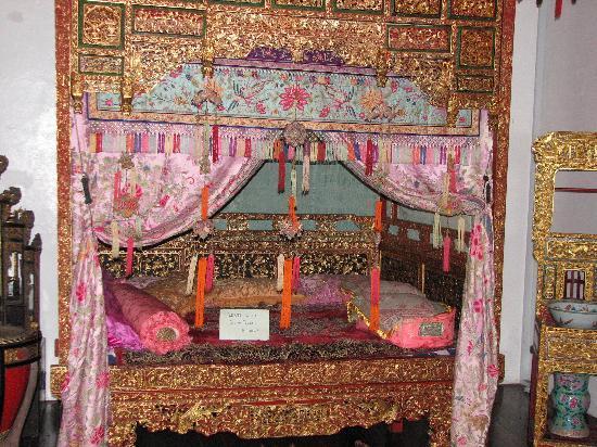 Penang, Malasia: prezioso letto