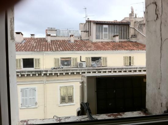 Europe Hotel : bedroom window view