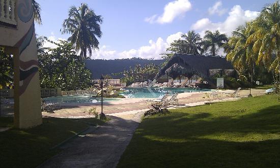 Hotel Porto Santo: The pool/bar area
