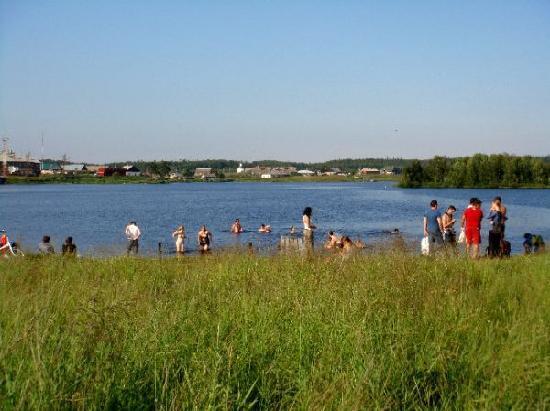 Ostrovito Moryushko: Le lac