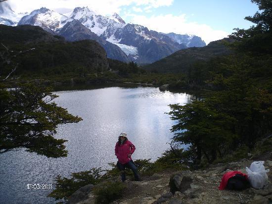 El Chalten, Argentine : Vista del Fitz Roy