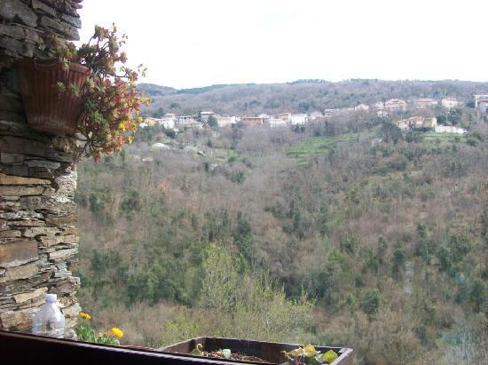 Chalet Su Foxile: Vista dalla veranda