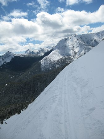 Choteau, MT: The view from the top traverse to Firewater