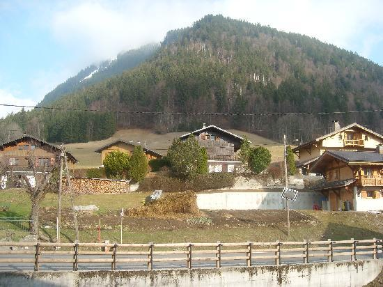 Hote Le Petit Dru : The view from my bedroom.