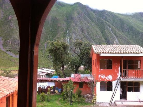 Ollantaytambo Lodge: the amazing view from the room