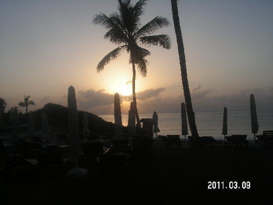 Garoda Resort : L'alba prima del safari