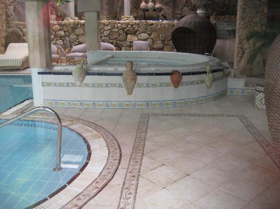 Hotel Eden Roc : Jacuzzi intérieur