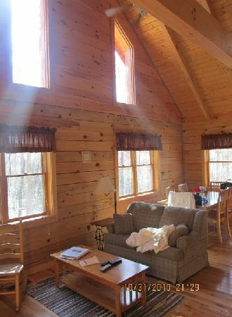 Country Road Cabins : Inside view