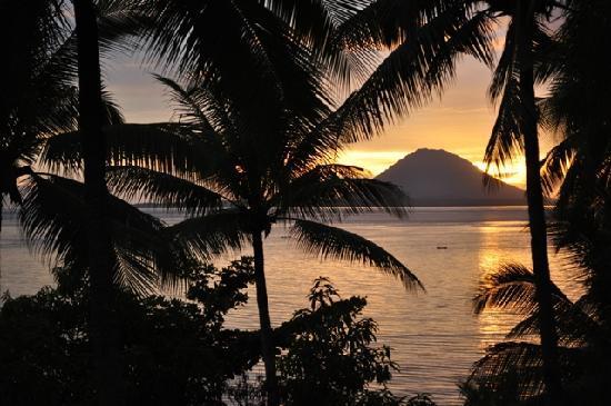 Kima Bajo Resort & Spa, Manado: View from our balcony