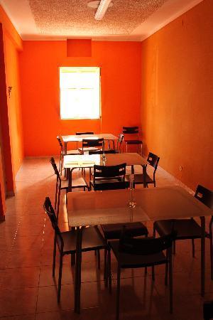 Praia, Cabo Verde: Frühstücksraum/ breakfast room
