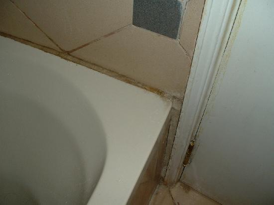 Morris Hotel: Un aperçu de la salle de bain.
