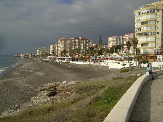 Apartamentos Fuerte Calaceite: The boulevard in Torrox