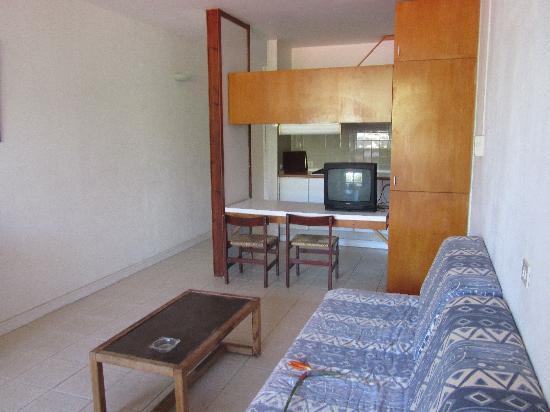 Hotel Palia Don Pedro: la cuisine et le salon
