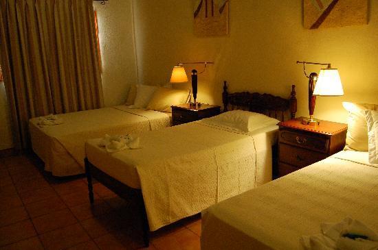 Posada Fuente Castalia: habitaciones