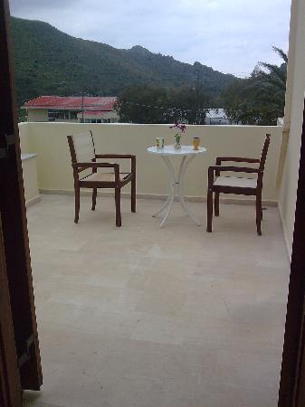 Labyrinth Studios: our balcony