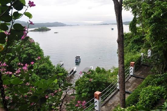 Lembeh Resort: View from our room - Lembeh