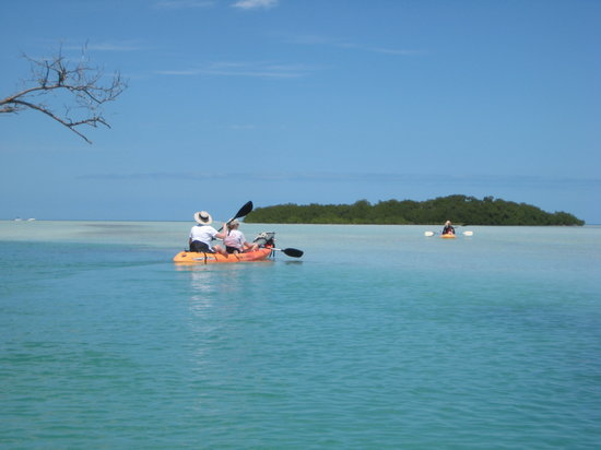 Reelax Charters: Kayaking in the outer keys
