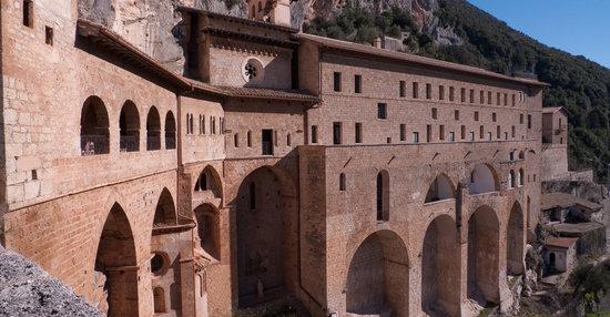 Subiaco, Włochy: Monastero di San Benedetto
