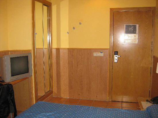 Hotel Rambla: La stanza