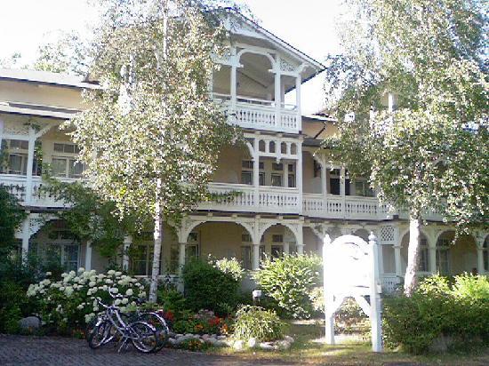 Ostseebad Baabe, Germany: Villa Granitz - Eingang