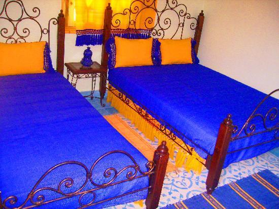 Gite Talassemtane: Blue room