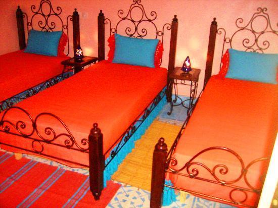 Gite Talassemtane: Orange Room