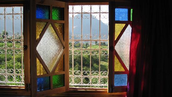 Gite Talassemtane: View over the Berber fields from the Gite