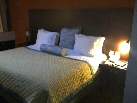 Wyndham Garden Mexico City Polanco: Very comfy bed