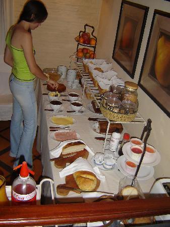 Hotel Casagrande: Café da manhã