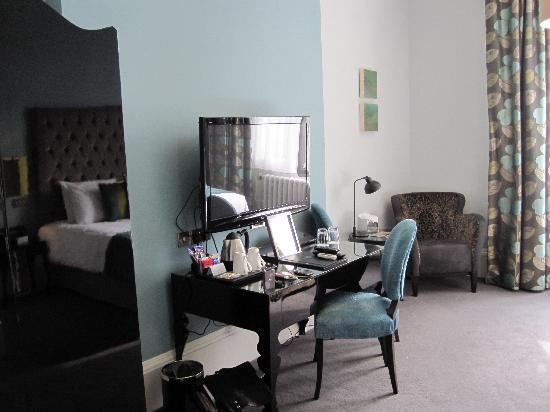 Hampton Manor: working area