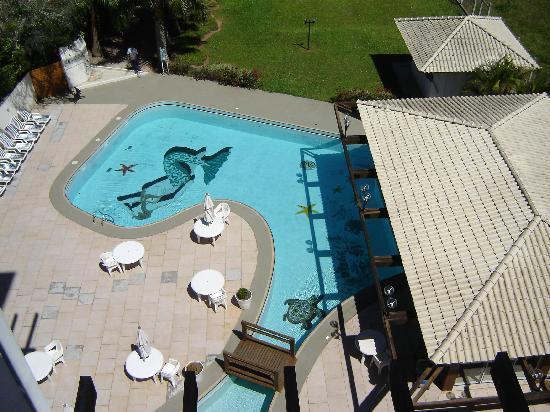Hotel Torres da Cachoeira: Vista do quarto