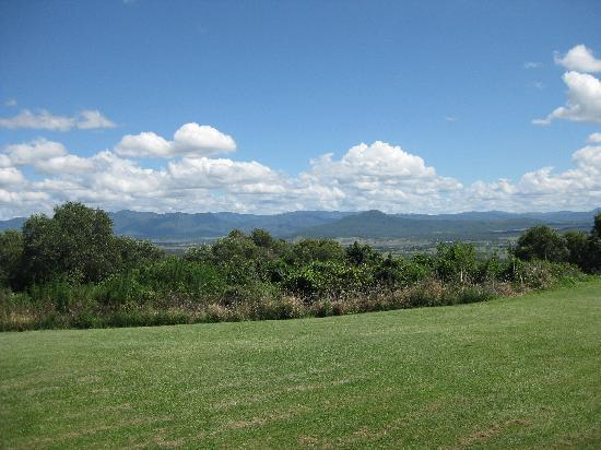 The Bunyip Scenic Rim Resort: View from outside our room
