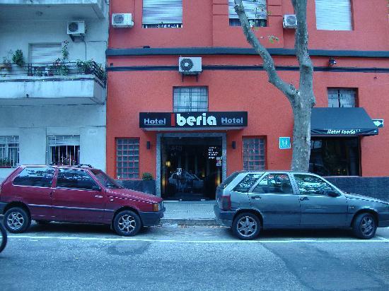 Hotel Iberia: Frente del Hotel