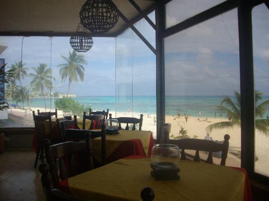Hotel Calypso: La vista desde el restaurante