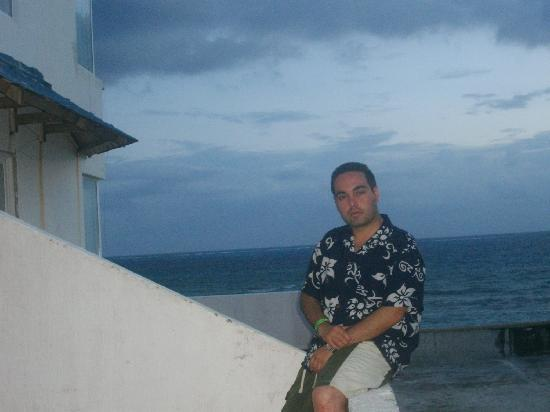 Hotel Calypso: Amanecer desde la habitación