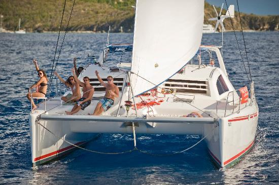Private Yacht Charter SXM: Mojito Sail Catamaran 47