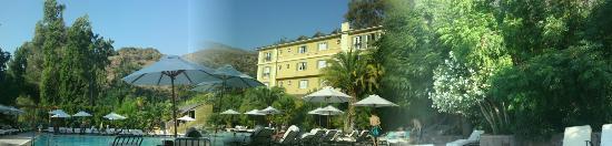 San Felipe, Chile: Vista panorámica de la piscina