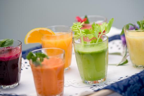 Hopewood Health Retreat: Fresh juice