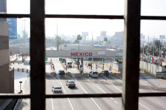 Mexican border at Tijuana