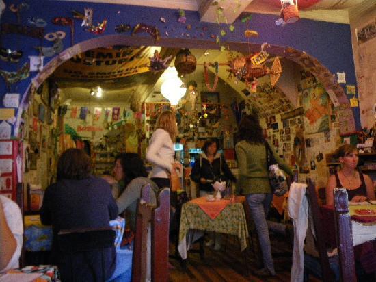 Color Cafe : inside the cafe