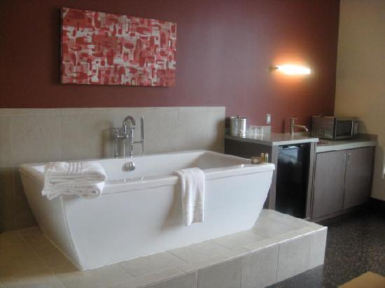 CityFlatsHotel - Holland: Soaking Tub