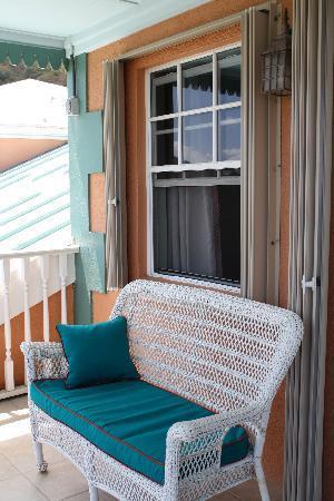 Arawak Bay: the Inn at Salt River: Seating area