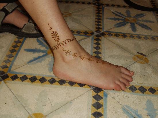 Au Petit Bonhomme La Chance : tatouage terminé