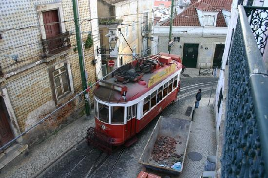 Alfama Patio Hostel: view from the room