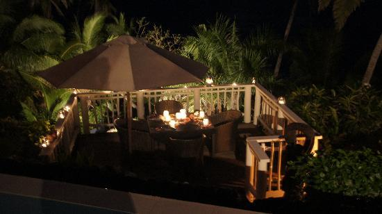 Taveuni Palms Resort: Our Last Dinner