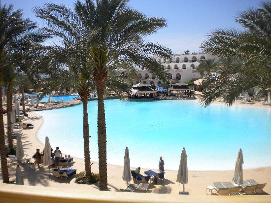 The Royal Savoy Sharm El Sheikh: View from our balcony - paradise!