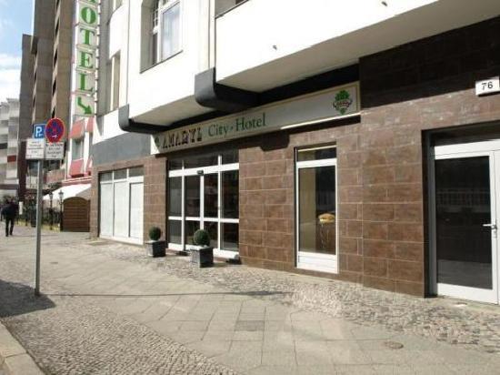 Amaryl City-Hotel am Kurfürstendamm: Außenansicht: Eingang Amaryl City-Hotel (www.hotel-amaryl.de).