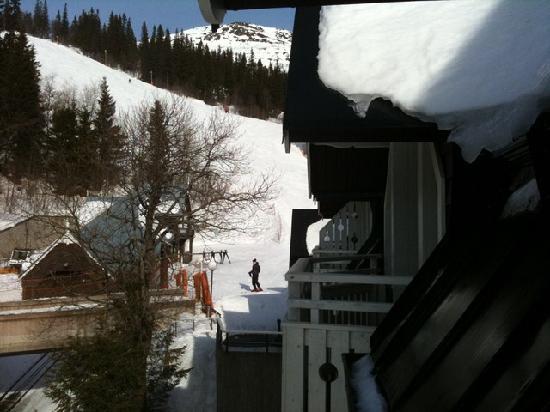 Fjallgarden Hotel: Utsikt från rummet