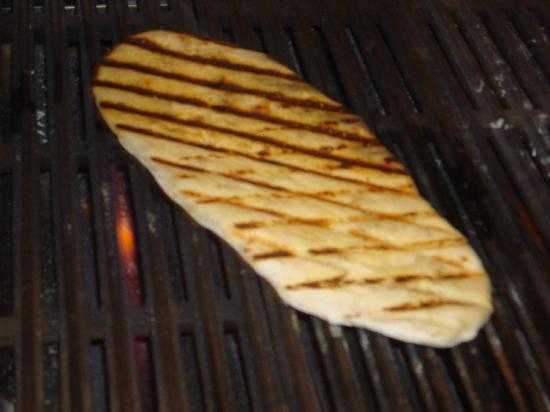 Osteria 8: grilled flat bread